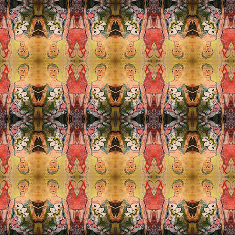 Ivy fabric by emmalynr on Spoonflower - custom fabric