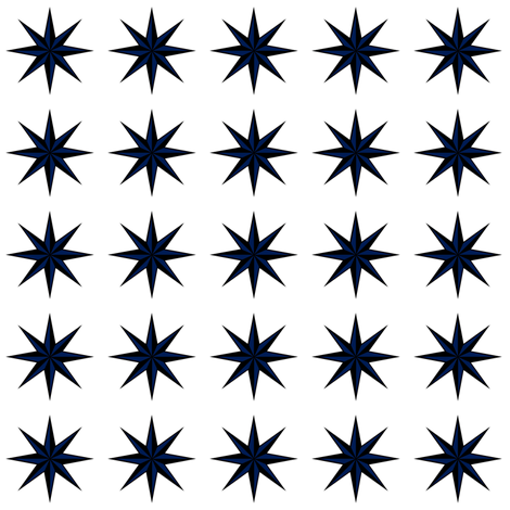 Ditsy star fabric by twoboos on Spoonflower - custom fabric