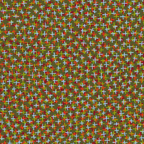 plus two - indian paintbrush palette fabric by weavingmajor on Spoonflower - custom fabric
