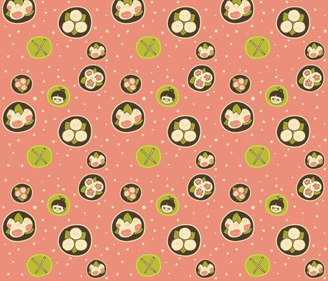 Dim Sum fabric by nobonesleft on Spoonflower - custom fabric