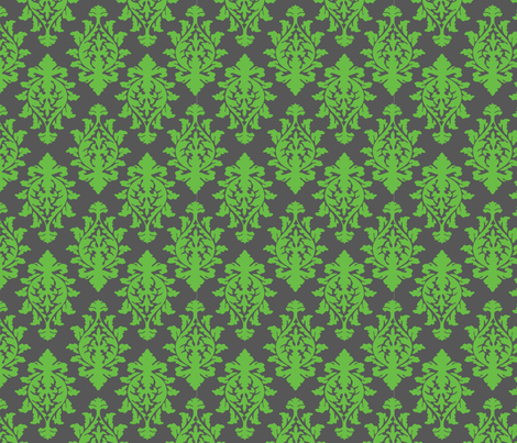 wallpaper-green/grey fabric by kimnyc on Spoonflower - custom fabric