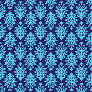 Wallpaper Print-blue