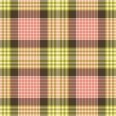 tartan - dim sum fabric by sef on Spoonflower - custom fabric