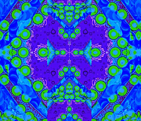 bubbling along in purple fabric by ann-dee on Spoonflower - custom fabric