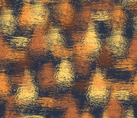 ripples at sunrise fabric by weavingmajor on Spoonflower - custom fabric