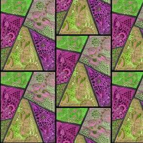Batik Crazy Quilt Number 2348008