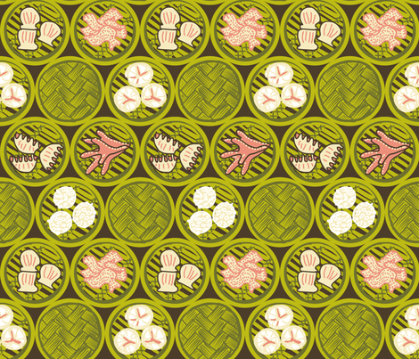 Chicken Feet  fabric by catbaconcreative on Spoonflower - custom fabric
