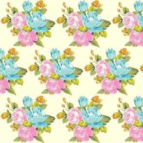 spring vintage floral multi