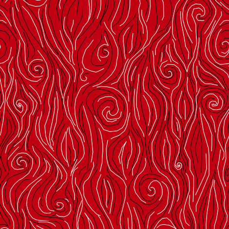 Red Hot Steam fabric by pond_ripple on Spoonflower - custom fabric