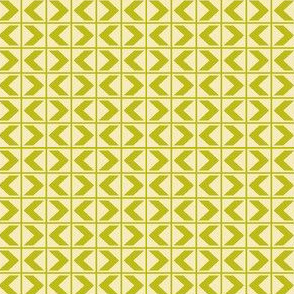 Dim Sum Chevrons - Bamboo on Cream