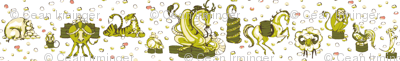 Zodiac Snack (white)
