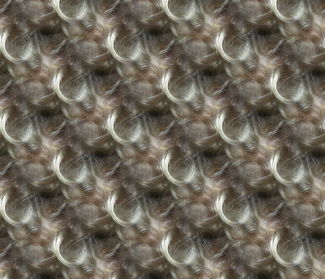 Little curl fabric by upcyclepatch on Spoonflower - custom fabric