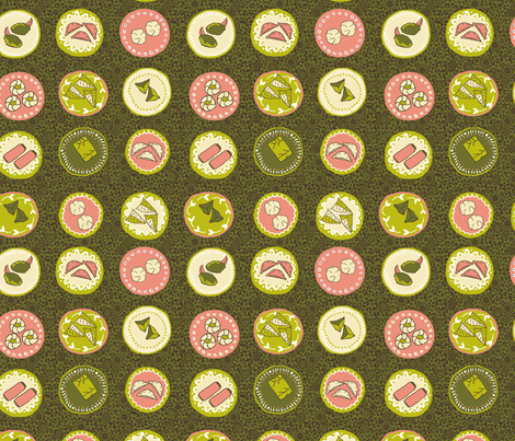 many_little_dishes fabric by jeannemcgee on Spoonflower - custom fabric