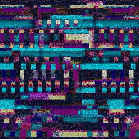 Night reflections by Su_G fabric by su_g on Spoonflower - custom fabric