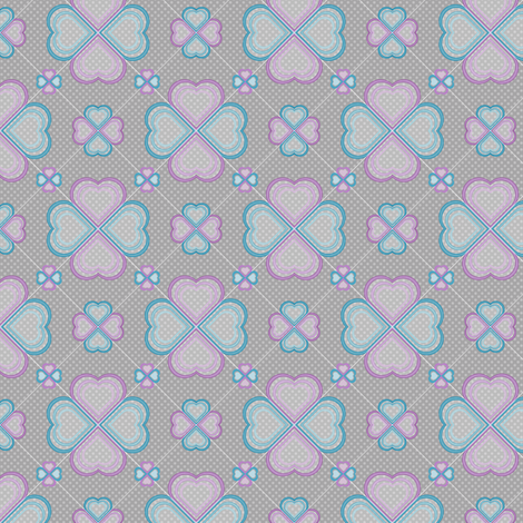Chiffon Hearts 3 fabric by jjtrends on Spoonflower - custom fabric