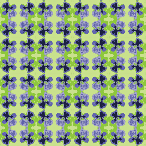 Pansy Plaid fabric by larkspur_hill on Spoonflower - custom fabric