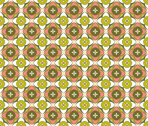 Blooming Dim Sum fabric by inscribed_here on Spoonflower - custom fabric