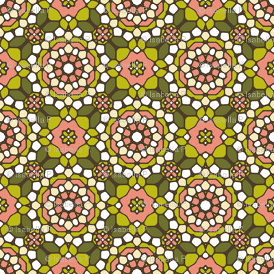 Delightful Dim Sum Mosaic