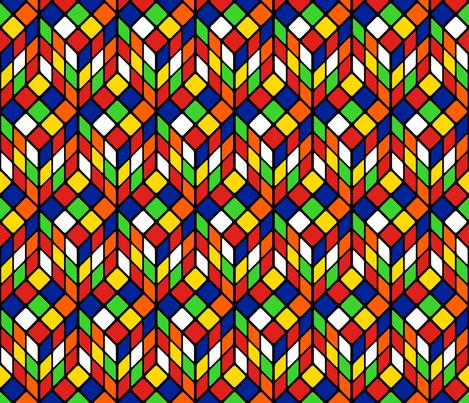 Cubik_Primaries fabric by wink&smile on Spoonflower - custom fabric