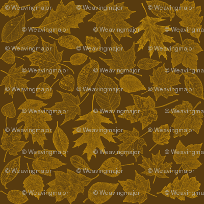 golden leaf etchings