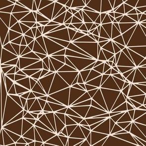 Delaunay Triangulation - brown