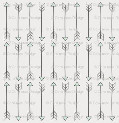 sketched arrows