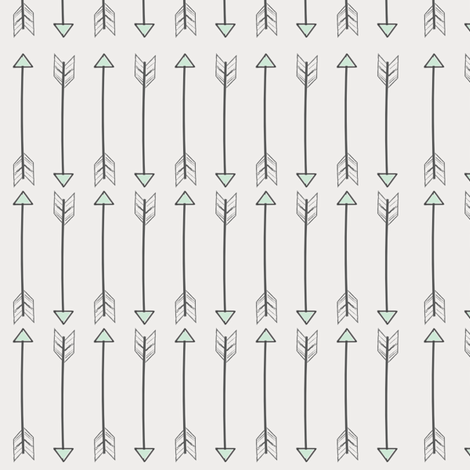 sketched arrows fabric by coramaedesign on Spoonflower - custom fabric