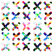 Crazy Colorful X's