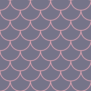 Scales grey-pink