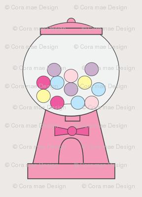 gum-ball machine