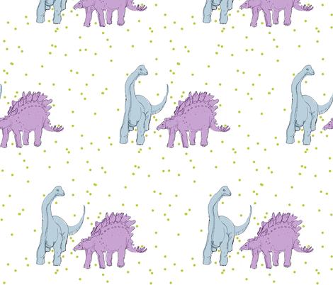 dinos fabric by ssbazodi on Spoonflower - custom fabric