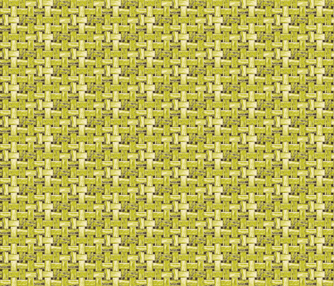 Green Dim Sum Basket fabric by inscribed_here on Spoonflower - custom fabric