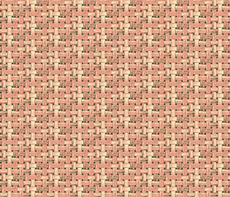 Pink Dim Sum Basket fabric by inscribed_here on Spoonflower - custom fabric