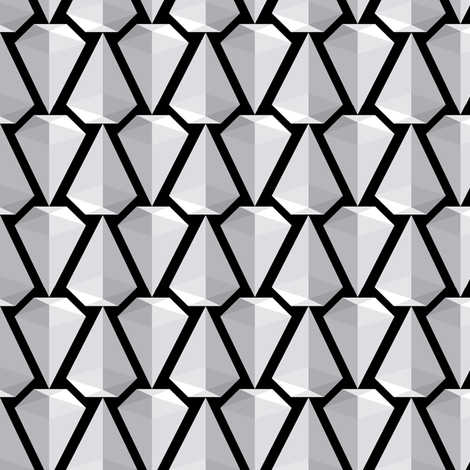 Diamonds fabric by mariapaula on Spoonflower - custom fabric