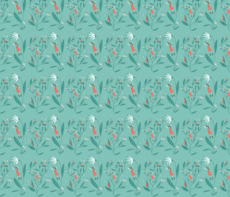 Flutter and Fly fabric by abigailhalpin on Spoonflower - custom fabric