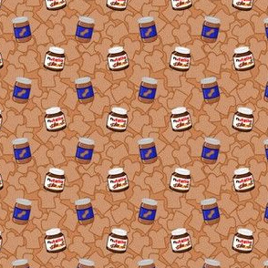 Peanut Butter and Nutella