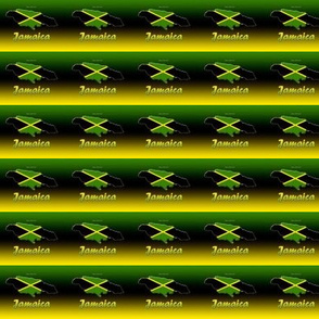 cascade of jamaica flags