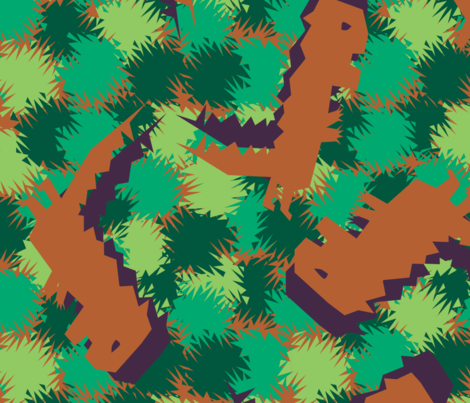 Henry's Dino fabric by infinity on Spoonflower - custom fabric
