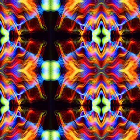 Crazy Kaleidoscope fabric by puggy_bubbles on Spoonflower - custom fabric