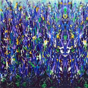 Blue Snapdragoms