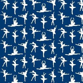 Ballerina Fabric Navy Blue - Small