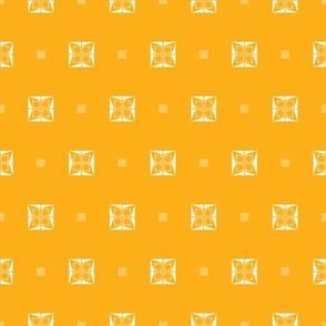 Orange Dice Motif