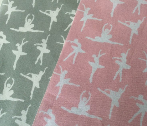 Ballerina Fabric Gray - Small