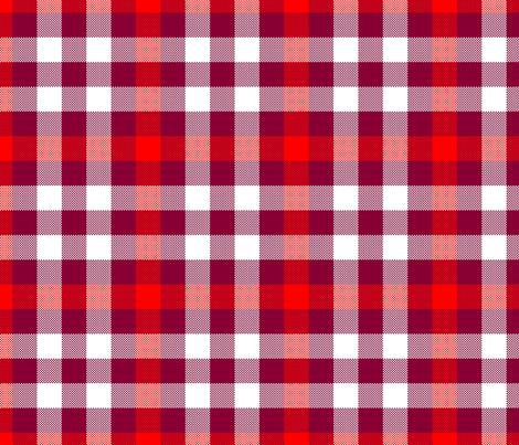 Sixth Doctor Red Waistcoat Tartan fabric by bobgreenwade on Spoonflower - custom fabric