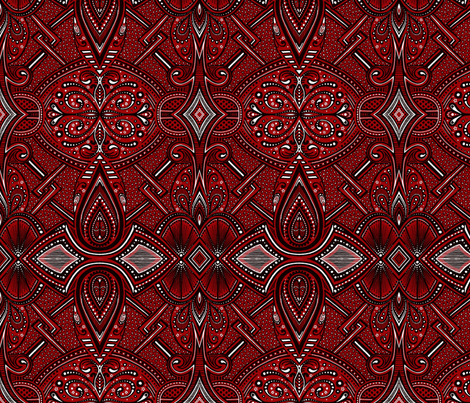 Piazzi fabric by siya on Spoonflower - custom fabric