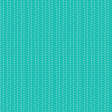 Turquoise Herring fabric by jacinda on Spoonflower - custom fabric