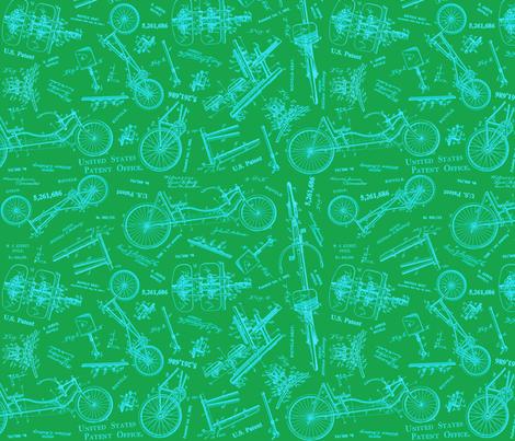 Recumbent Kelly fabric by brainsarepretty on Spoonflower - custom fabric