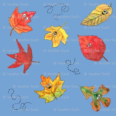 Tumbling Leaves