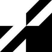 Medium Size Houndstooth Check - Black & White