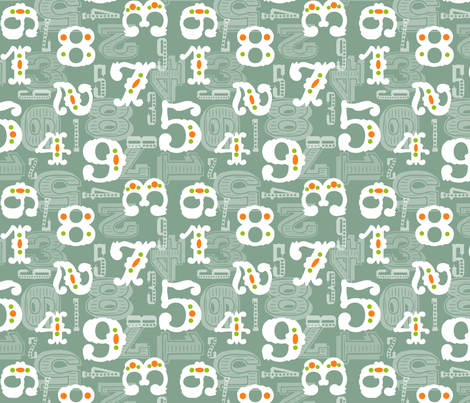 schoolgeo fabric by natitys on Spoonflower - custom fabric